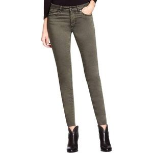 Two by Vince Camuto Black Faded Skinny Jeans